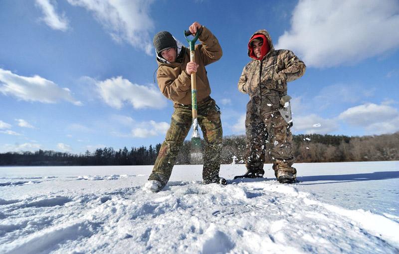 Ловля судака на тюльку зимой, Моя Рыбалка