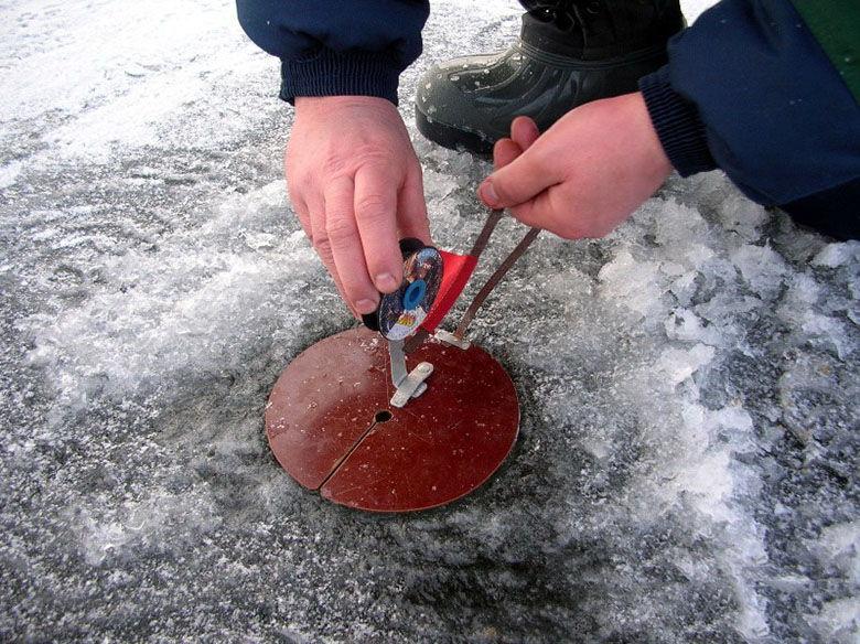 Ловля на жерлицы зимой